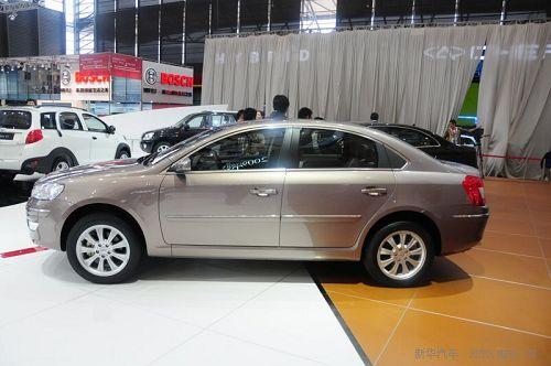 2009上海国际车展揭幕 奇瑞瑞麒g5高清图片
