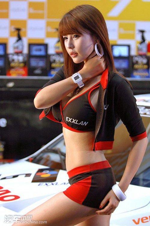 可爱长相身材火辣第一美女车模――中国菏泽网