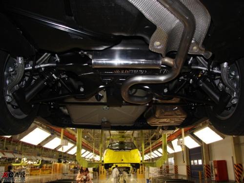 神龙汽车底盘结构图解