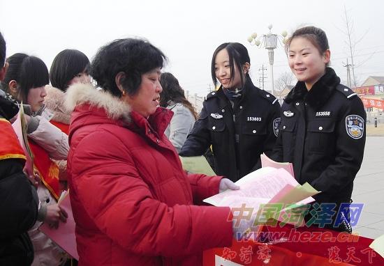 曹县 学雷锋青年志愿服务活动