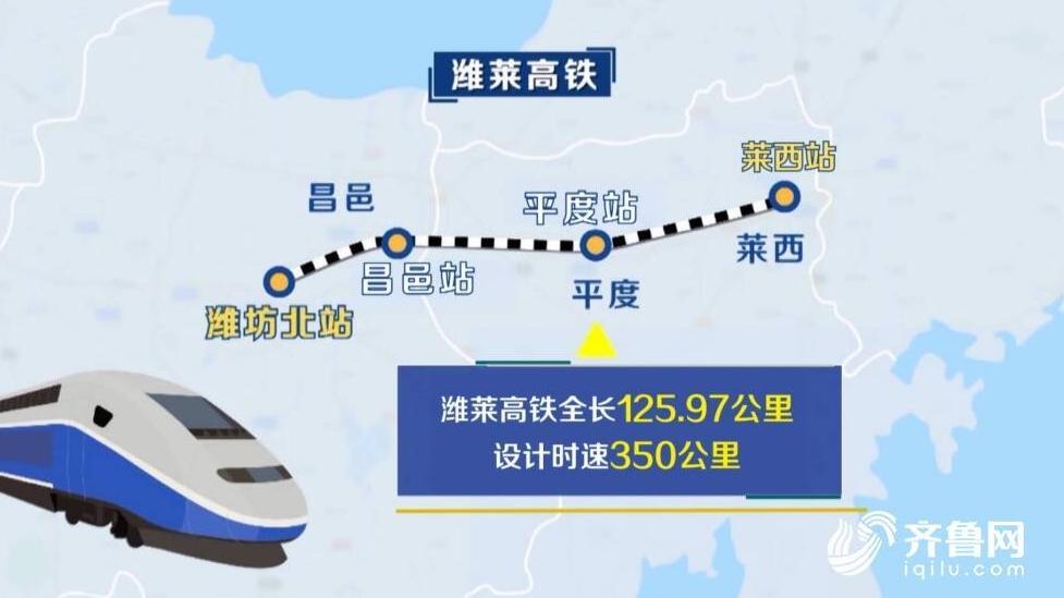 潍莱高铁11月26日通车 济南至烟台两小时直达