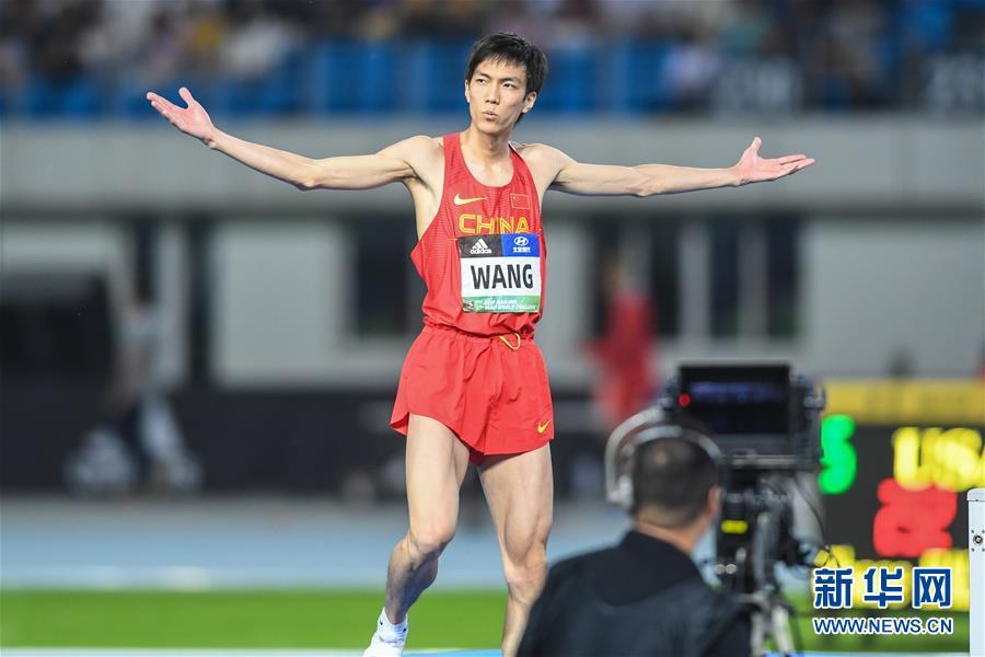 (体育)(3)田径——国际田联世界挑战赛(南京站):王宇获男子跳高冠军