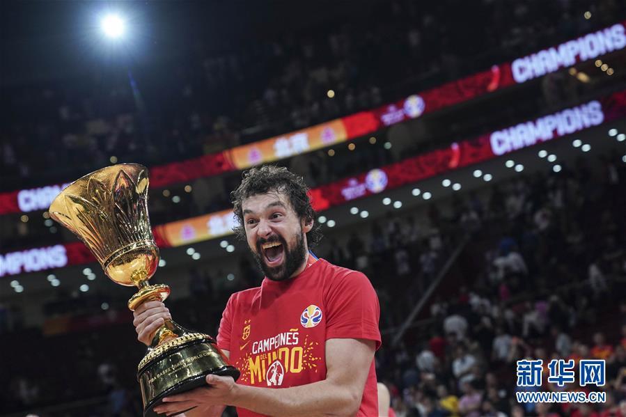 (篮球世界杯)(37)篮球――决赛:西班牙队夺冠
