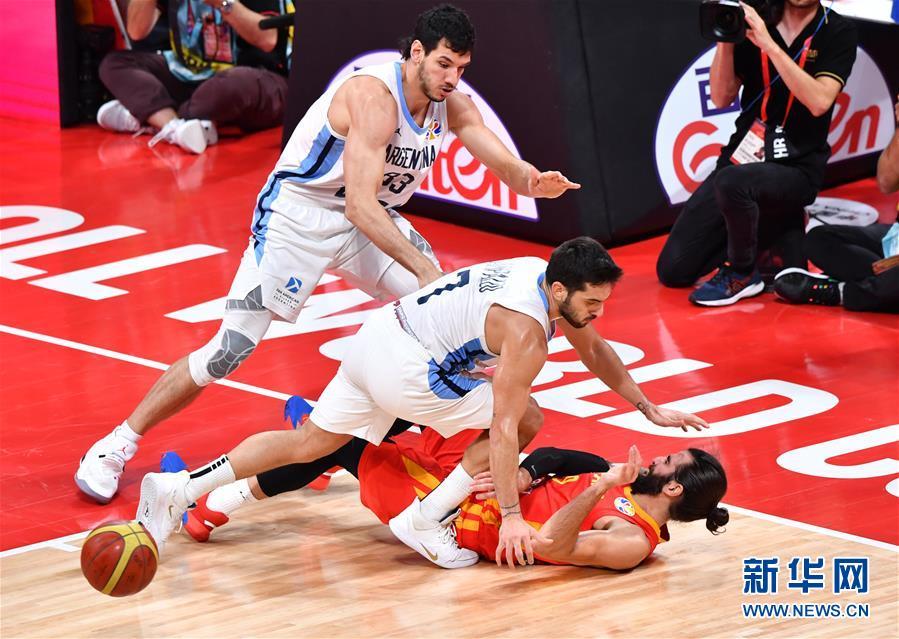 (篮球世界杯)(65)篮球――决赛:西班牙队夺冠