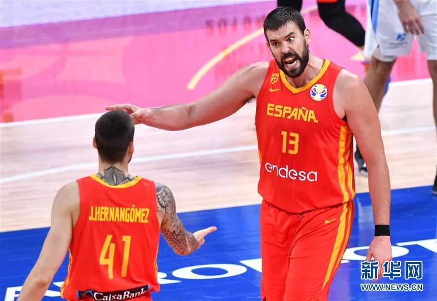 (篮球世界杯)(64)篮球――决赛:西班牙队夺冠