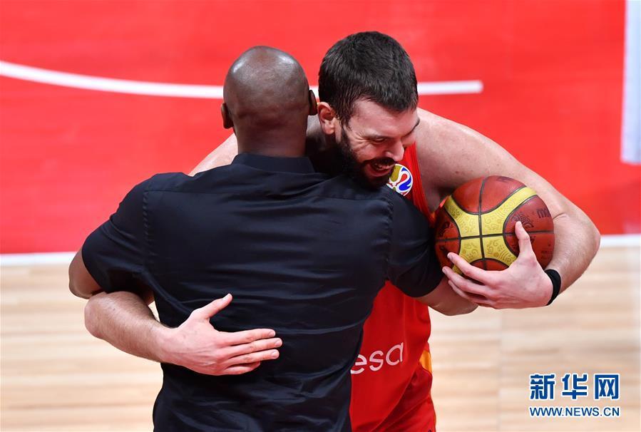 (篮球世界杯)(62)篮球――决赛:西班牙队夺冠