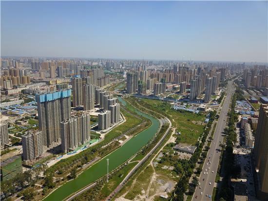 环堤公园成城市绿色廊道